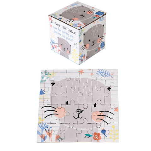 Lilly the Cat Mini Jigsaw Puzzle