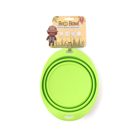 BECO Collapsible Travel Bowls -Green