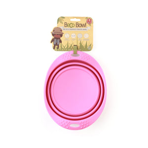 BECO Collapsible Travel Bowls -Pink