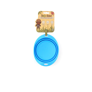 BECO Collapsible Travel Bowls -Blue