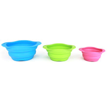 Load image into Gallery viewer, BECO Collapsible Travel Bowls -Pink