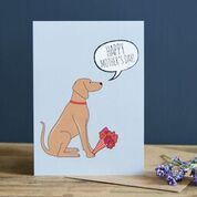Vizsla Mother's Day Card