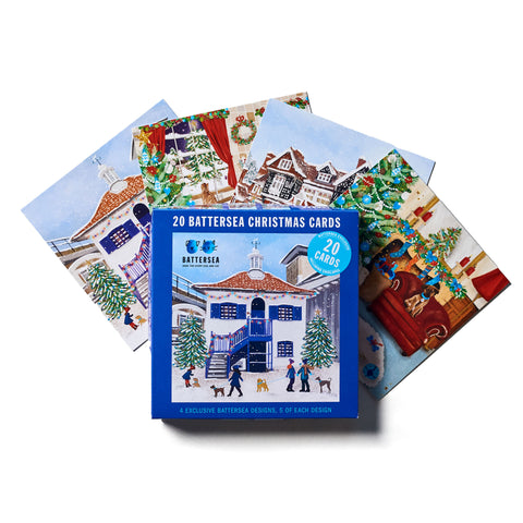 Assorted Battersea Boxed Christmas Cards