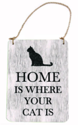 Wooden Sign-Cat