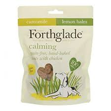 Forthglade Heart-Shaped Calming Treats with Chamomile & Lemon Balm