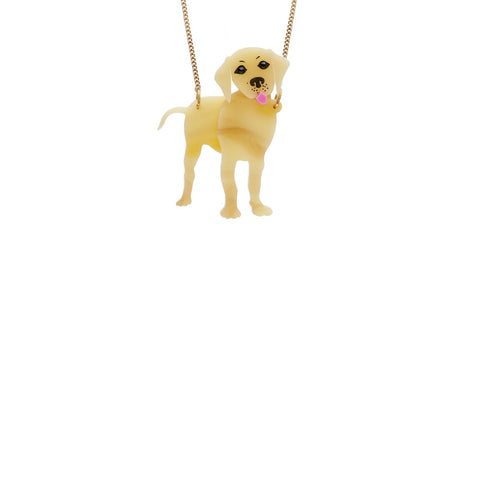 Tatty Devine Labrador Necklace