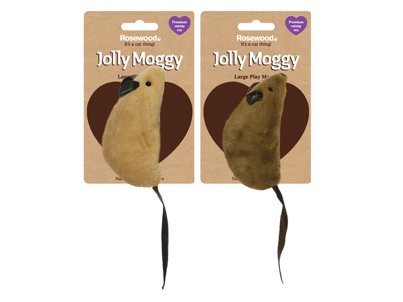 Jolly Moggy Large Play Mouse
