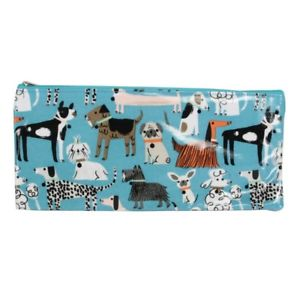 Large Dog Print Pencil Case