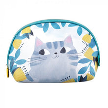"Load image into Gallery viewer, Planet Cat Wash Bag ""Mysterious Folk"""
