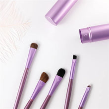 Load image into Gallery viewer, Mini Eye Makeup 5 Piece Brush Set