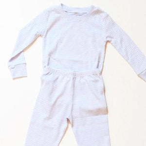 Striped Pajama Long Set