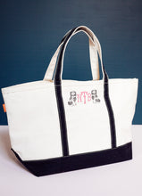 Load image into Gallery viewer, Large Canvas Tote Bag