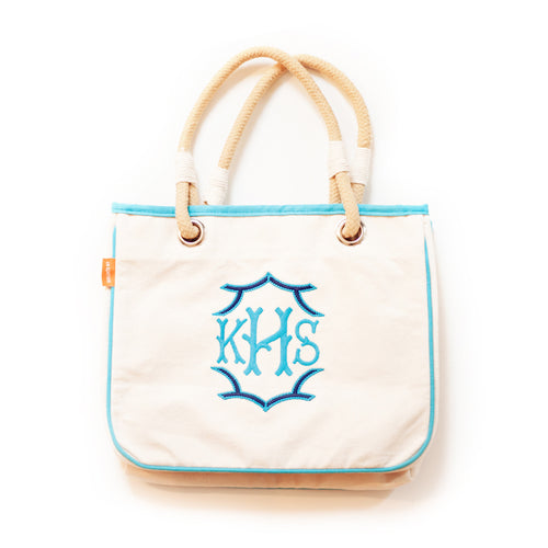 Canvas Rope Tote