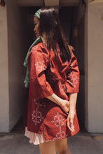Load image into Gallery viewer, Petalled: Teratai Kimono Currant (Red)