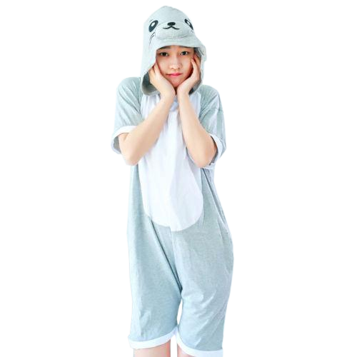 Comfy Gray Seal Onesies