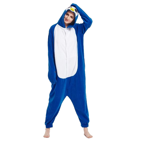 Stylish Blue Penguin Onesies