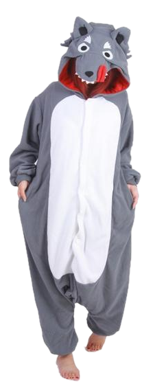 Timber Wolf Onesies