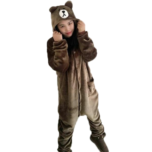 Brown Bear Womens Onesies