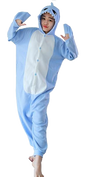 Stylish Light Blue Shark Onesies