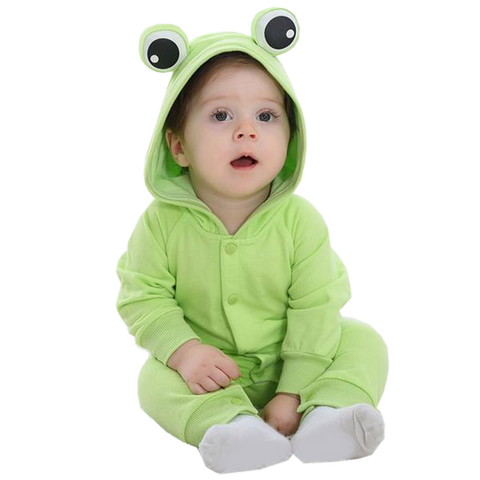 Baby Light Green Frog Onesies