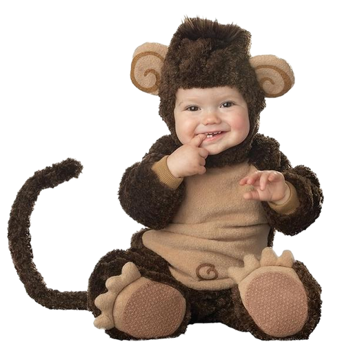 Cute Furry Monkey Onesies