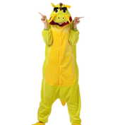 Yellow Chinese Dragon Onesies
