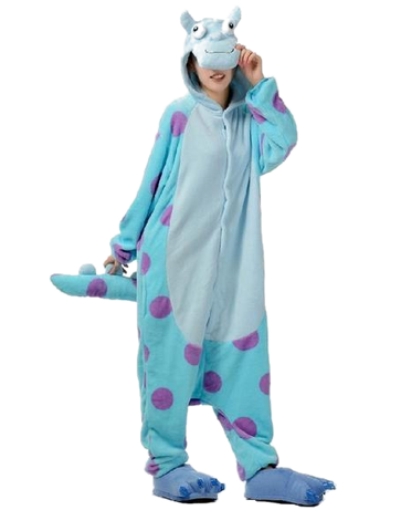 Adorable Sulley Pajama Onesies