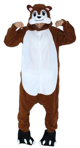 Adorable Brown Chipmunks Onesies