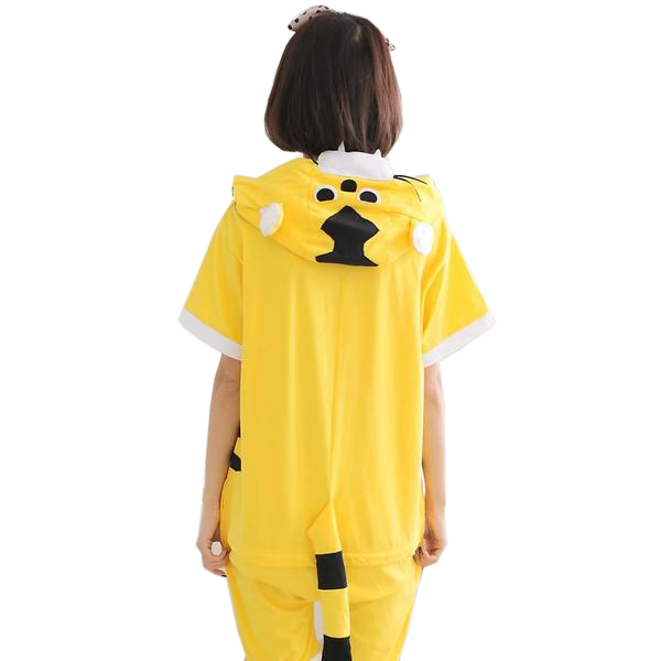 Comfy Yellow Tiger Onesies