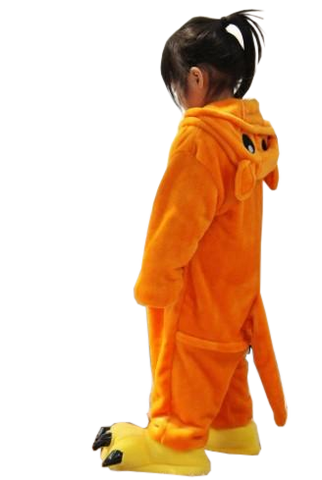 Orange Kiddie Kangaroo Onesies