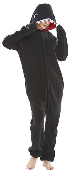 Funny Black Shark Onesies