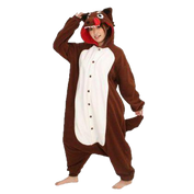 Hungry Brown Wolf Onesies