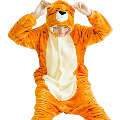 Fancy Adult Tiger Onesies