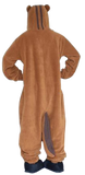 Charming Brown Squirrel Onesies