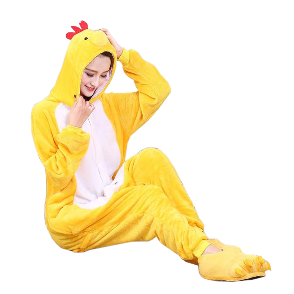 Yellow Happy Chicken Onesies