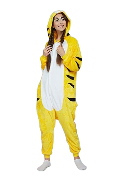 Stylish Yellow Tiger Onesies
