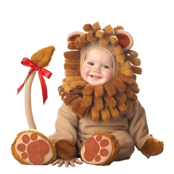 Cute Furry Lion Onesies