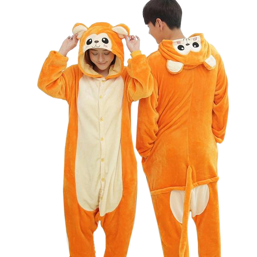 Orange Monkey Onesies