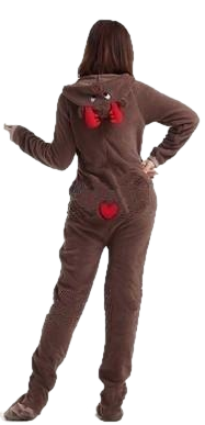 Slim Fit Brown Deer Onesies