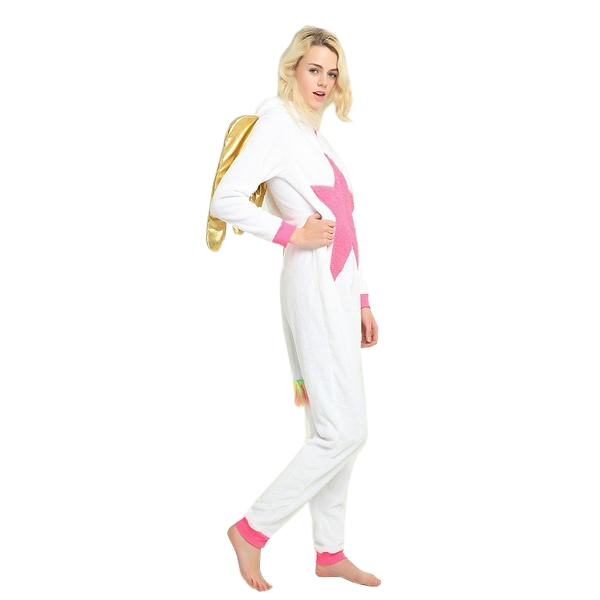 Womens Golden Unicorn Onesies