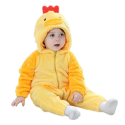 Yellow Spring Chicken Onesies