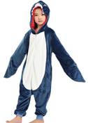 Kids Navy Blue Shark Onesies