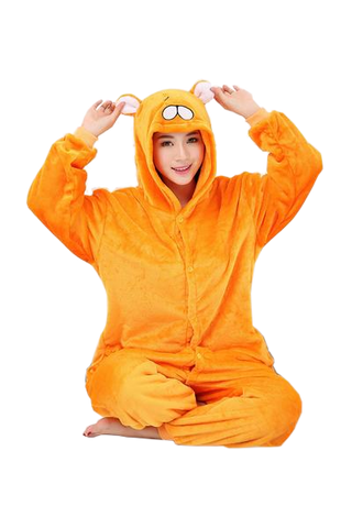 Elegant Orange Hamster Onesies