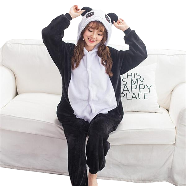 Cute Panda Womens Onesies
