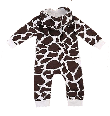 Stylish Giraffe Jumpsuit Onesies