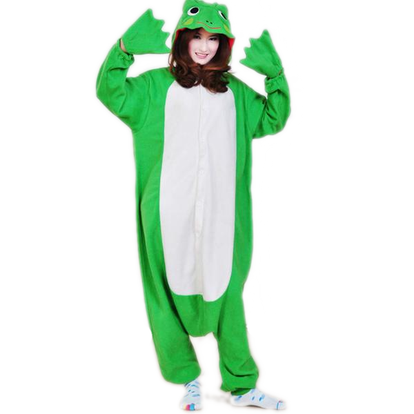 Green Frog Adult Onesies