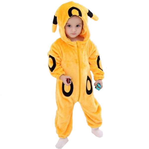 Kids Yellow Umbreon Onesies