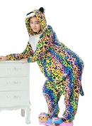 Colorful Panther Onesies
