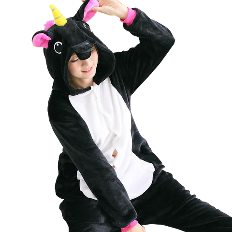 Black Unicorn Onesies