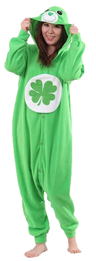 Irish Green Care Bear Onesies